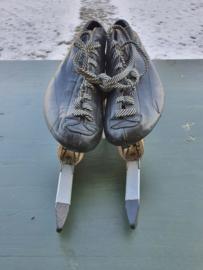 Raps zilver track klapschaatsen maat 36 schaatsen