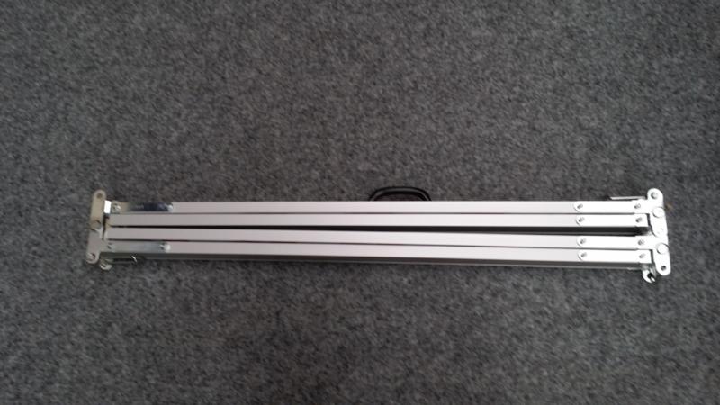 Uitklapbare baak tot 400 cm aluminium constructie
