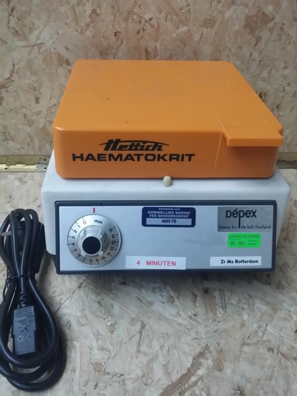 Hettich Haematokrit SK102 centrifuge