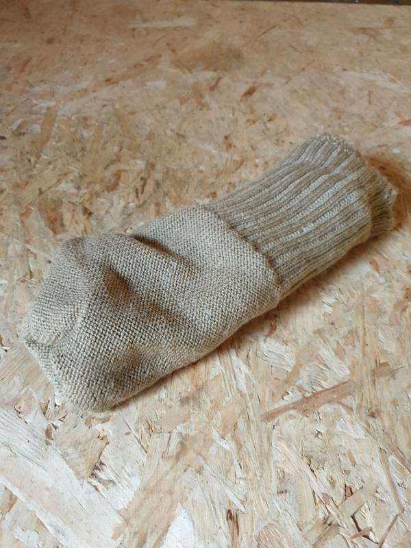 Nette gebruikte NL leger sokken Khaki