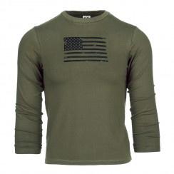 Kinder t-shirt USA lange mouw