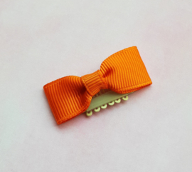 Anti slip haarclipje 'orange'