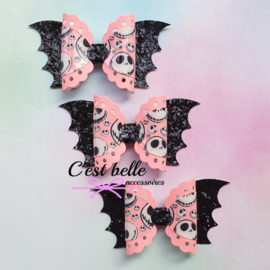 Glow in the dark haarstrik large batgirl Halloween