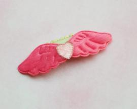Anti slip haarclipje 'wings pink'