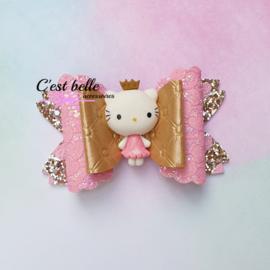Luxe Enchanted haarstrik large prinses poesje kitty