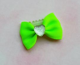 Anti slip haarclipje 'neon yellow'