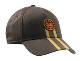 Beretta - Corporate Striped Cap - Chocolate Brown