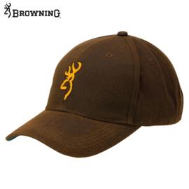 BROWNING Cap Dura Wax bruin