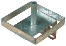 Liksteenhouder METAAL voor 10 KG. Blok