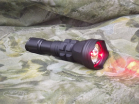 Led Lamp Zoom 380 Lumen Rood