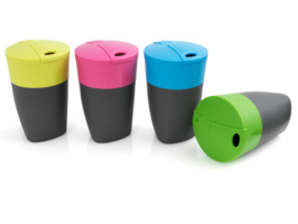 Pack-up-Cup 4 pack Lime/Fuchsia/Cyan Blue/Green