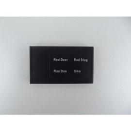 Electronische Lokker wisselkaart Hert