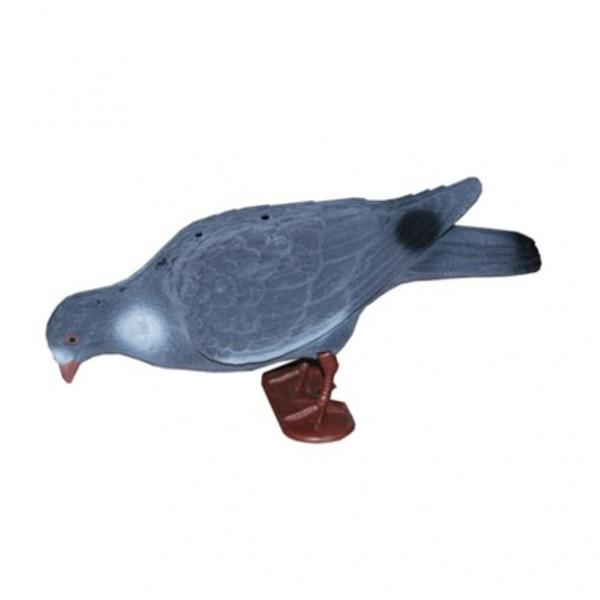 Lokvogel duif XL 40cm geflockt 12stuks