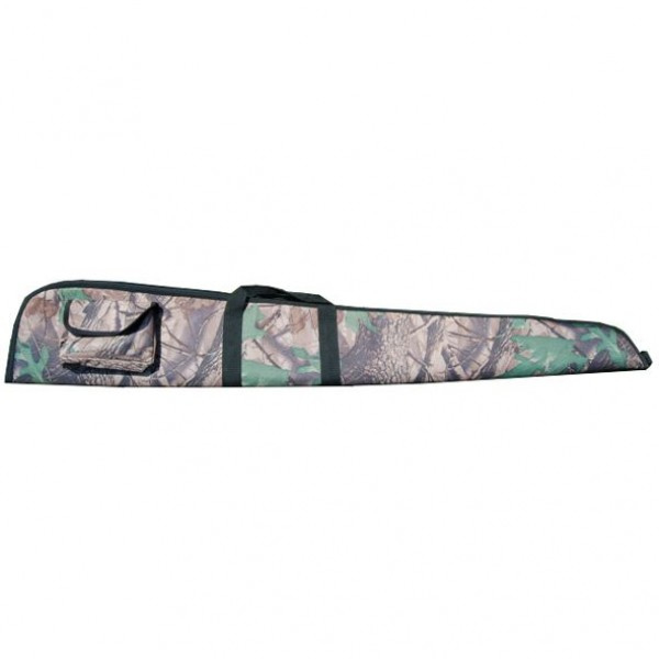 Foedraal geweer camouflage 600D polyester met sponge 142cm
