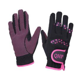QHP - Handschoenen Stars Roze