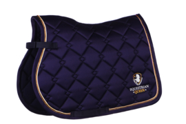 Equestrian Queen - Zadeldek Paris Navy VZ