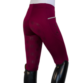 Rijlegging Technical Strech Burgundy