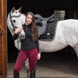 Horsegloss - Rijlegging Technical stretch Burgundy