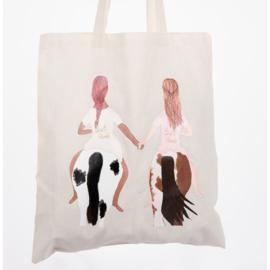 Happy Horse Gear - Tote bag 'Bestfriend Brownie'