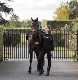Horsegloss - Sweater 'Dressage' Zwart