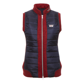 Equestrian Queen - Bodywarmer Grace navy