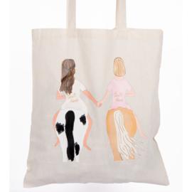 Happy Horse Gear - Tote bag 'Bestfriend Blondie'
