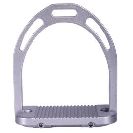 Stijgbeugel QHP aluminium Metallic