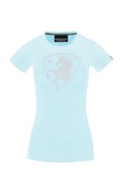 Equestrian Queen T-Shirt 'Valery' Aqua