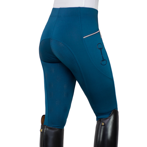 Horsegloss - Rijlegging 'Technical Stretch' Midnight blue