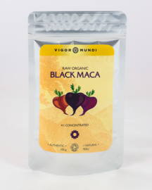 Raw Organic BLACK MACA 4:1