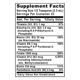 Max B-ND™  Dietary Supplement Probiotic-Fermented Vitamin B Complex Formula Dynamic Liver, Energy, Brain and Mood Support