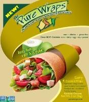 Pure Wraps Coconut Wraps Curry 4 Pcs