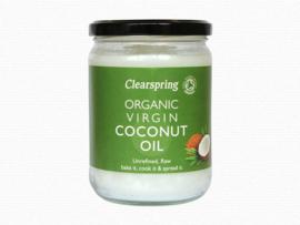 Clearspring Kokos Olie Bio 400 Gram