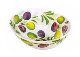 Organische schaal olijven medium