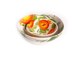 Organische schaal granaatappel medium