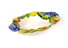 Ovale schaal fruit NIEUW