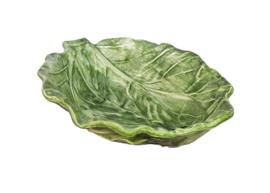 Schaaltje bladvorm groen
