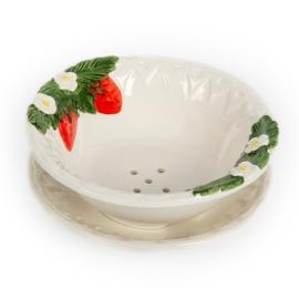 Aardbeien- testje/ uitlekschaal voor fruit groot