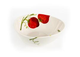 Schaal aardbeien giada M