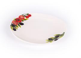 Tomaat/olijven bord