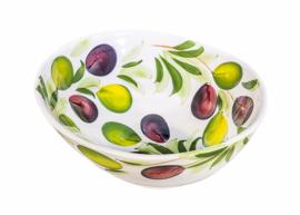 Schaal organisch met olijven Klein