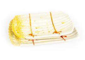 Uitlekschaal asperges geel