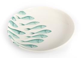 Schaal CAPRI met visjes in 4 maten