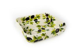 Ovenschaal olijven vierkant