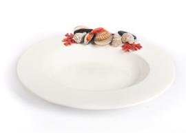 Ovale schaal Pesce schaal- en schelpdieren