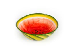 Schaal watermeloen groot