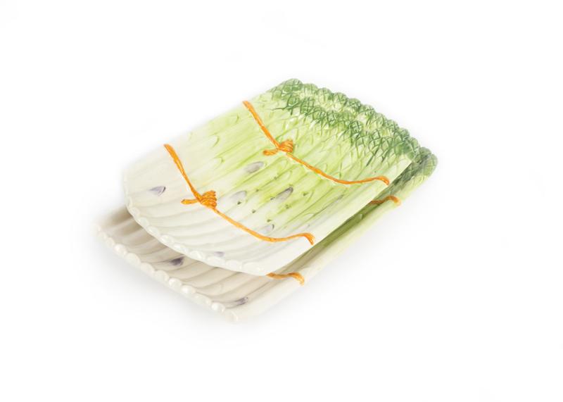 Uitlekschaal asperges groen