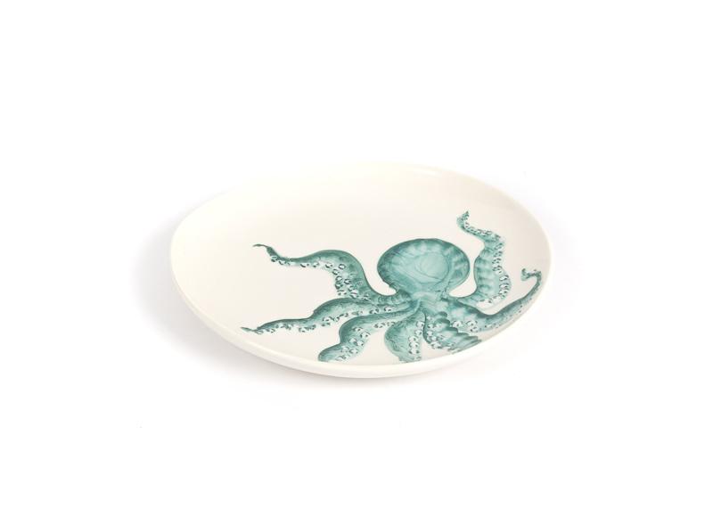 Bord Capri met octopus klein
