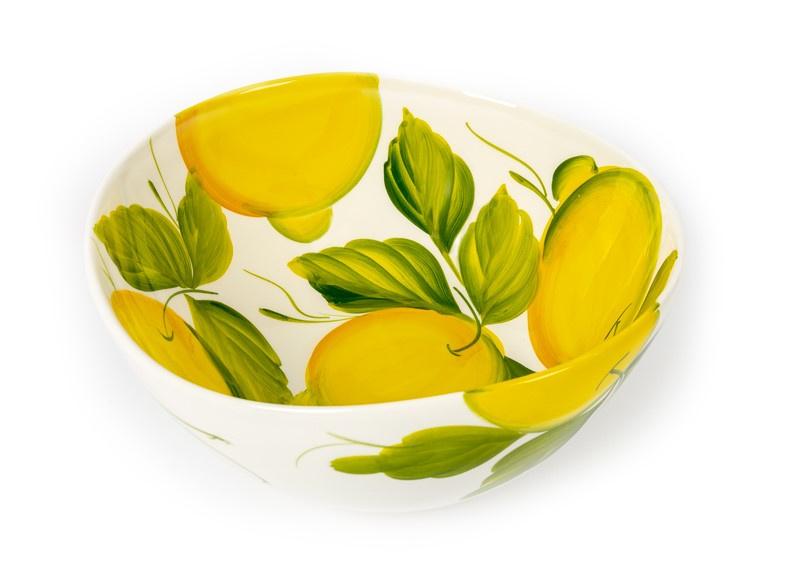 Schaal met citroenen groot
