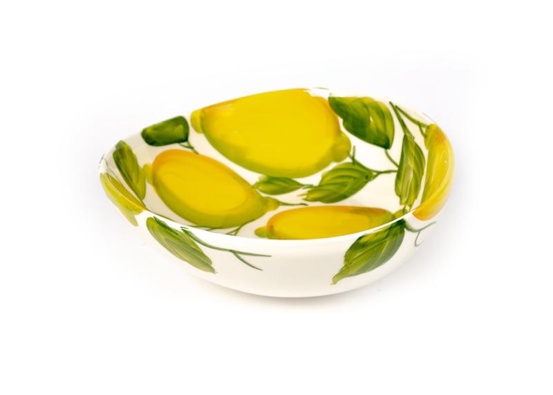 Giada schaal met citroenen M NIEUW